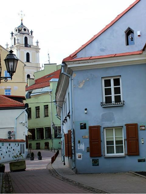 one day in vilnius, Lithuania