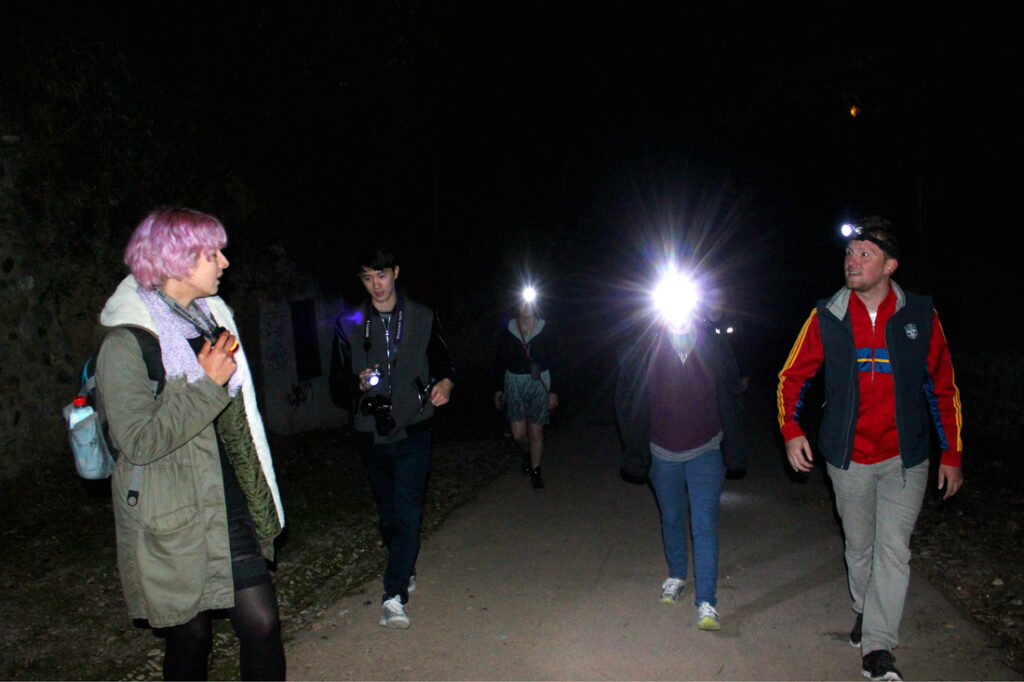 night adventure tour in Granada