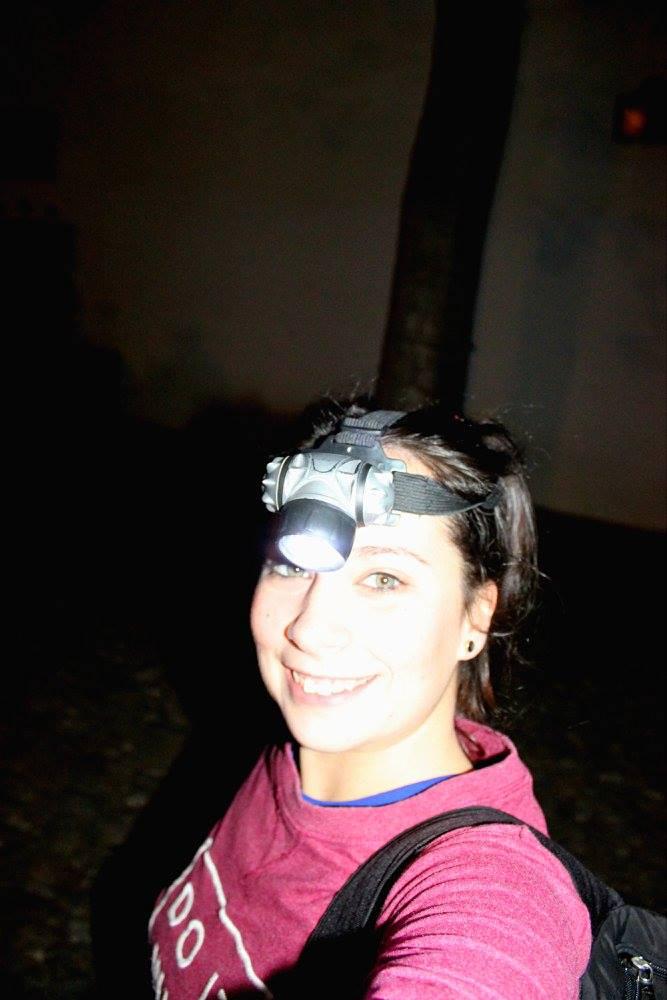 solo female traveler adventuring in Granada
