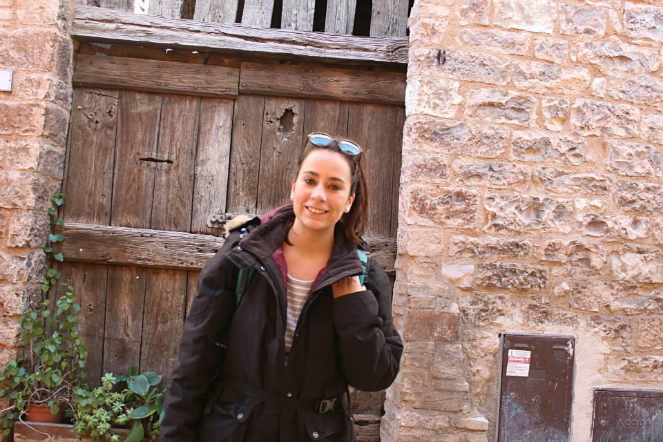solo female traveler in Spello, Italy