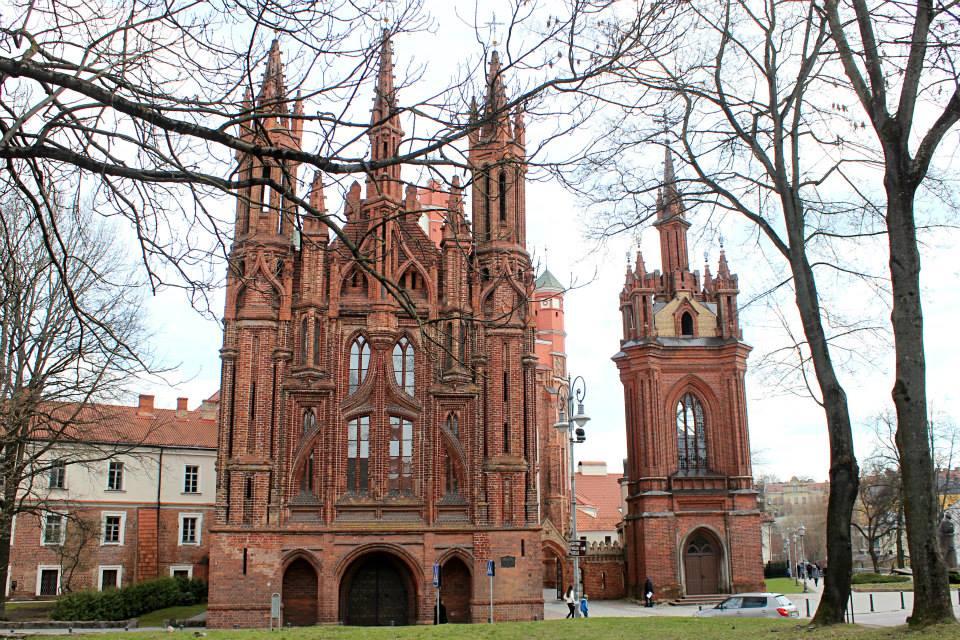 St. Anne's Church in Vilnius