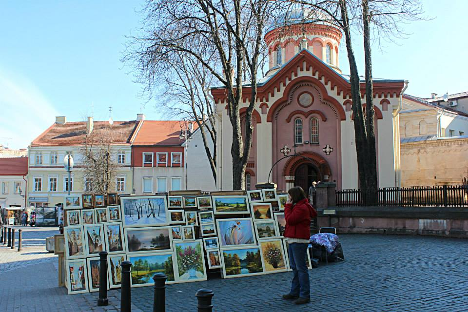 One day exploring the streets of Vilnius in Lithuania